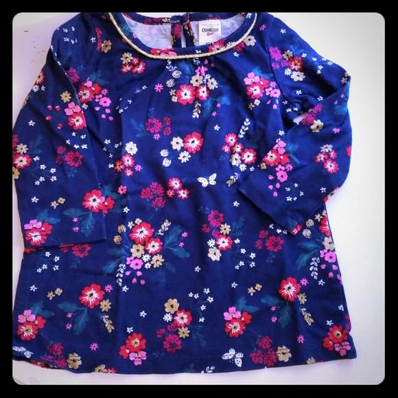 Oshkosh Bgosh Dresses 3 For 9 Pretty Flower Dress Poshmark